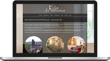 Éclat d'Ambiance, décoration d'intérieur et dessins 3D