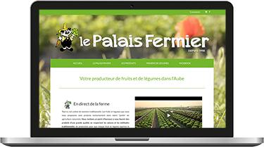 Le Palais Fermier, producteur de fruits et légumes dans l'Aube